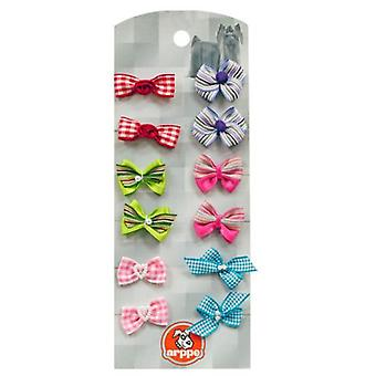 Arppe Pack 12 assorted Lacitos (Dogs , Dog Clothes , Fashion Accessories)