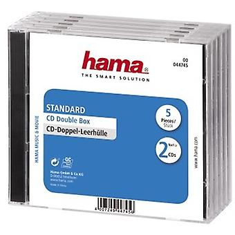 Hama CD Box 5pcs Double scellé