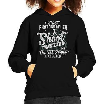 Street Photographer Kid's Hooded Sweatshirt