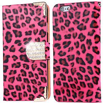 Etui portefeuille de Leopard - iPhone 8