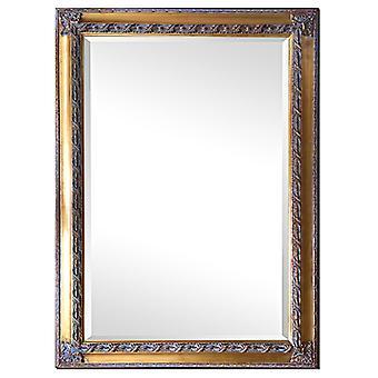 ミラー ゴールド、寸法 76 × 106 cm
