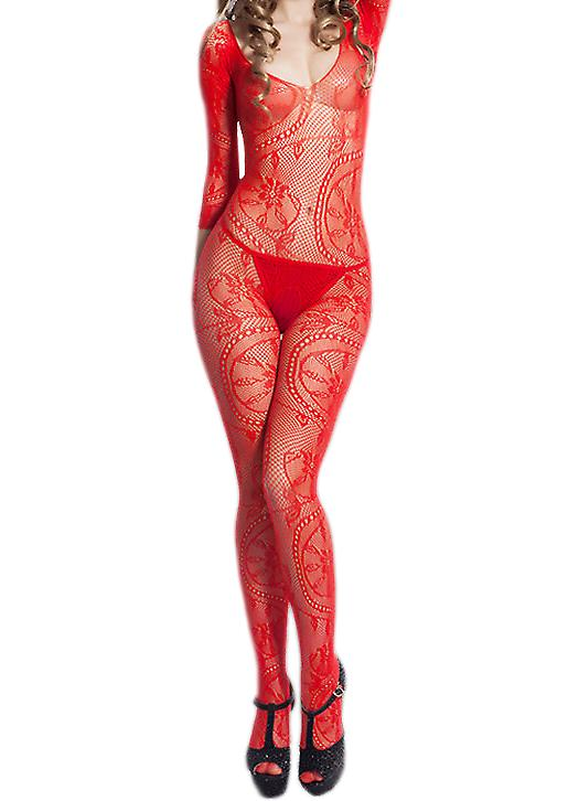 Waooh 69 - Combination Sexy Stockings In Bloom Designs Shonna