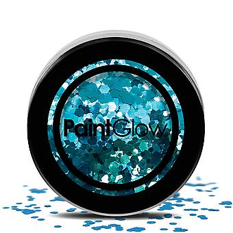 Klobige Glitter 3,5 G Kaleidoskop