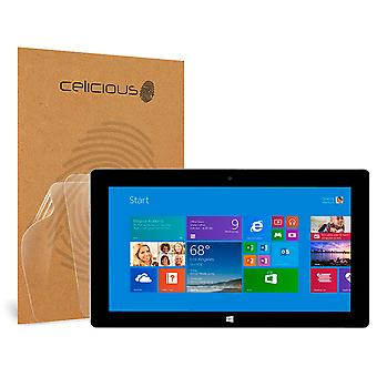 Celicious Vivid Invisible Glossy HD Screen Protector Film Compatible with Microsoft Surface 2 [Pack of 2]