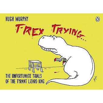 تحاول تي ركس--التجارب المؤسفة من الملك السحلية الطاغية بعناق