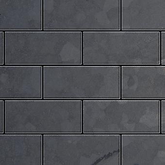 Metal mosaik rå stål LEGERING Subway-RS
