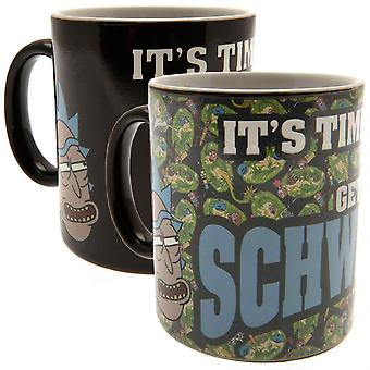 Rick And Morty Official Schwifty Heat Changing Mug