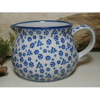Krug, 1500 ml, Höhe 12 cm, Tradition 12 - boleslawiec aardewerk - BSN 7427