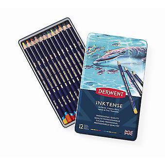 Derwent Inktense Bleistifte 12 Tin