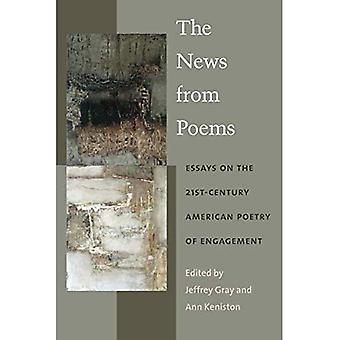 Nyheter från dikter: essäer om 21st-talets amerikanska poesi engagemang