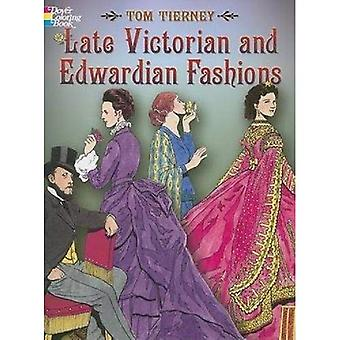 Late Victorian and Edwardian Fashions (Dover Coloring Book)