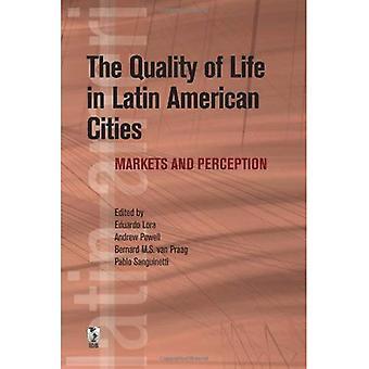 Surveillance de la qualité de vie urbaine en Amérique latine