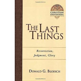 Le ultime cose: Resurrezione, giudizio, gloria (Christian fondazioni)
