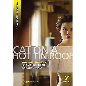 Cat on a Hot Tin Roof (York Notes Advanced)