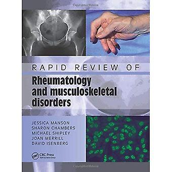 Schnelle Überprüfung der Rheumatologie und Muskel-Skelett-Erkrankungen (Medical Rapid Review Serie)