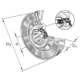 INA RSRA15-90-L0 Belt Tension Pully
