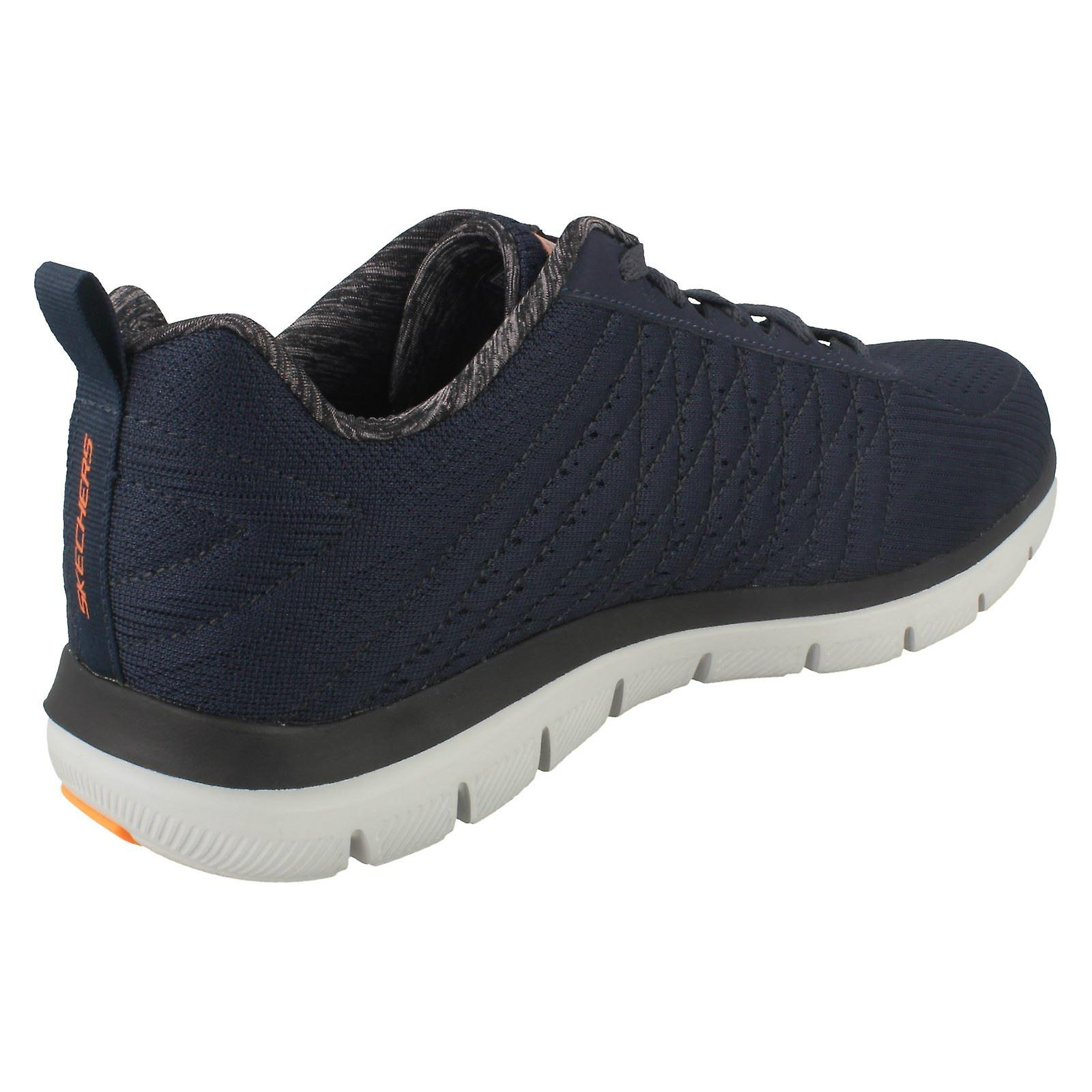 half off ff87b 973c1 Mens Skechers Air Cooled Trainers The Happs 52185