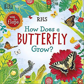 RHS How Does a Butterfly Grow? [Board book]