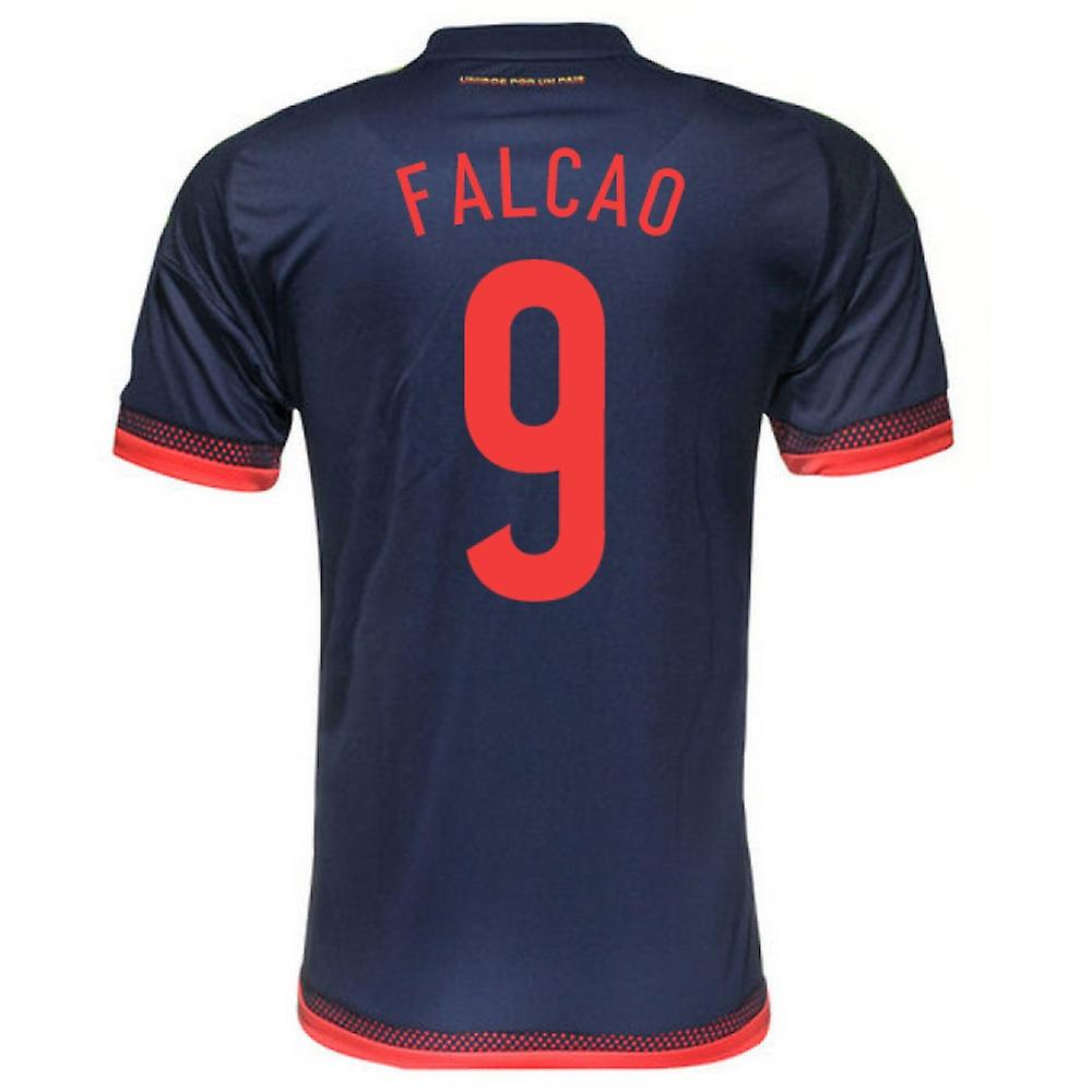 2015-2016 Colombia Adidas Away Shirt (Falcao 9)