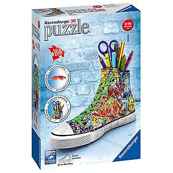 Ravensburger 12535 Graffiti Sneakers 108 Pieces 3D Jigsaw