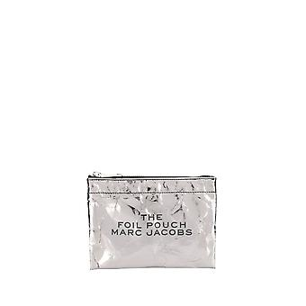 Marc Jacobs Silver Plastic Clutch