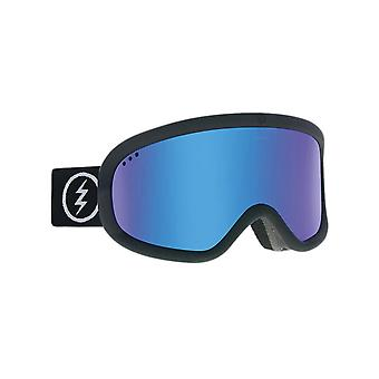 Electric Matte Black-Brose-Blue Chrome 2019 Charger Snowboarding Goggles
