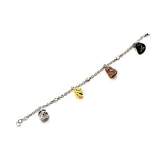 Star Wars Characters Stainless Steel Charm Bracelet