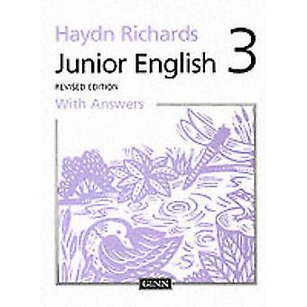 Junior English - 1997 - Book 3 - Pupil Book with Answers - 9780602275136