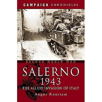 Salerno 1943 fra Angus Konstam-9781844155170 Book
