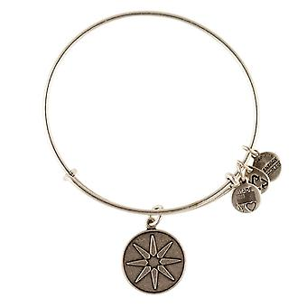 Alex en Ani ster van Venus Zilveren Bangle A12EB08RS