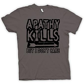 Kids T-shirt - Apathy Kills But I Don�t Care - Funny