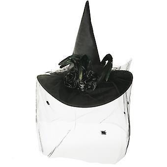 Luxury witch Hat Black witch Halloween