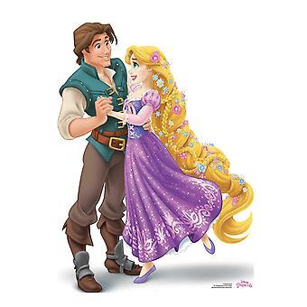 Princess Rapunzel and Prince Flynn Rider Official Disney Cardboard Cutout