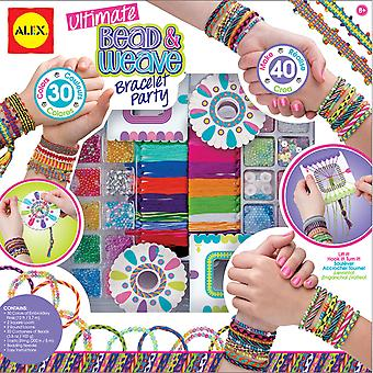 Ultimate Bead & Weave Bracelet Party Kit- 137P