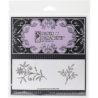 Paper Parachute Cling Rubber Stamps 7