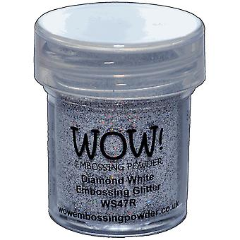 Wow! Embossing Powder 15Ml Diamond White Wow Ws47r