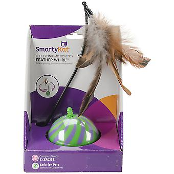 SmartyKat FeatherWhirl Electronic Motion Ball Toy-  9621