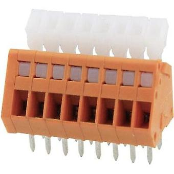 Spring-loaded terminal 0.51 mm² Number of pins 8 DG240-2.54-08P-15-00AH Degson Orange 1 pc(s)