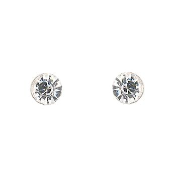Clip On Earrings Store Classic Clear Crystal Stone Magnetic Clip on Earrings