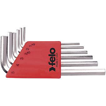 Felo Allen Keys Short Game 6 pieces nickel plated