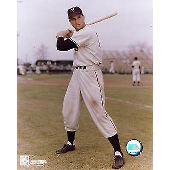 Bobby Thomson - con bat deportes foto (8 x 10)