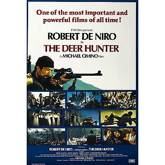 The Deer Hunter British Poster Robert De Niro 1978  UniversalCourtesy Everett Collection Movie Poster Masterprint