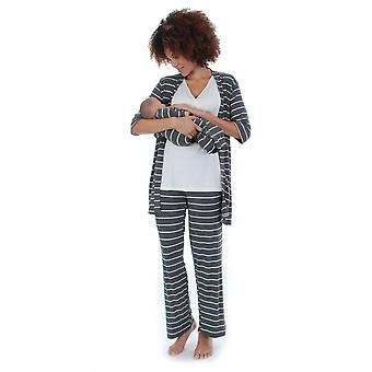 Cindy 4-pc. Nursing PJ Set with Gift Bag