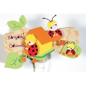 Domiva Coccinelle night Lamparilla (Home , Babies and Children , Decoration , Lighting)
