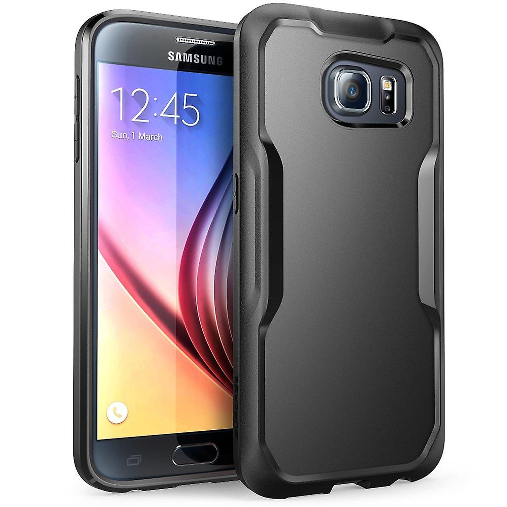 SUPCASE Samsung Galaxy S6 Case - Unicorn Beetle Case - Black/Black