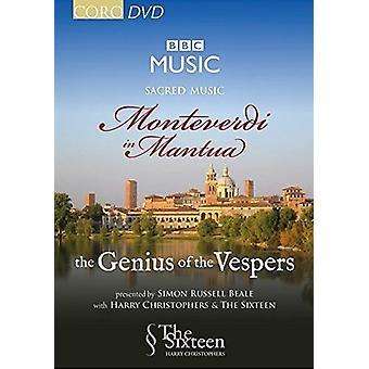 Monteverdi / seksten / Christophers - kirkemusik: Monteverdi i Mantova - Genius af [DVD] USA import