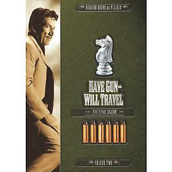Haben Gun Will Travel - Gun Will Travel: Vol. 2-6. & Final Season [DVD] USA import