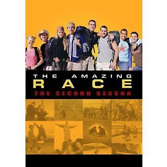 Amazing Race: Sæson 2 [DVD] USA importerer