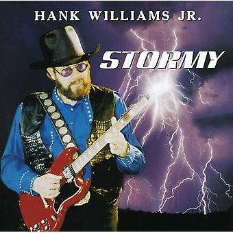 Hank Williams Jr. - stormfulde [CD] USA importerer