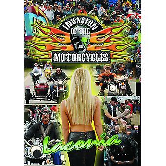 Invasion af motorcykler: Laconia Biker Rally [DVD] USA import